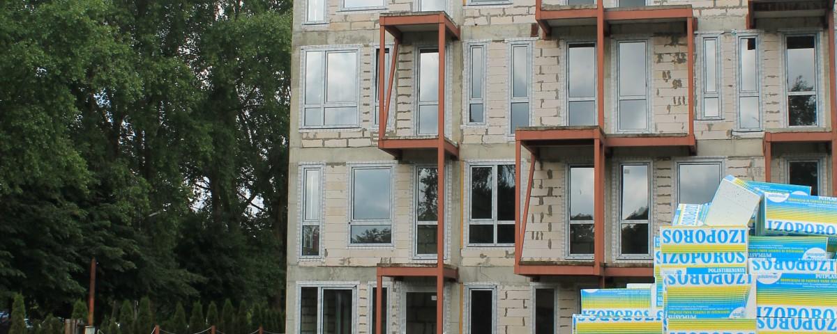 Apartamentus apšildys polisteris